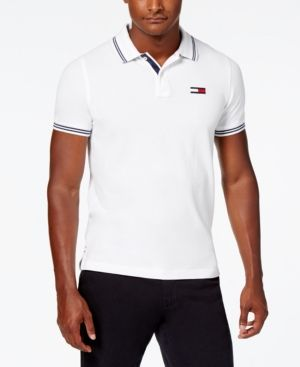 f27453b3e TOMMY HILFIGER MEN'S SLIM FIT LOGAN POLO. #tommyhilfiger #cloth ...