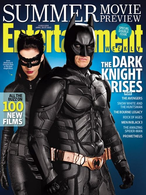 New Promo Shot Of Christian Bale's Batman & Anne Hathaway's Catwoman For 'The Dark Knight Rises'