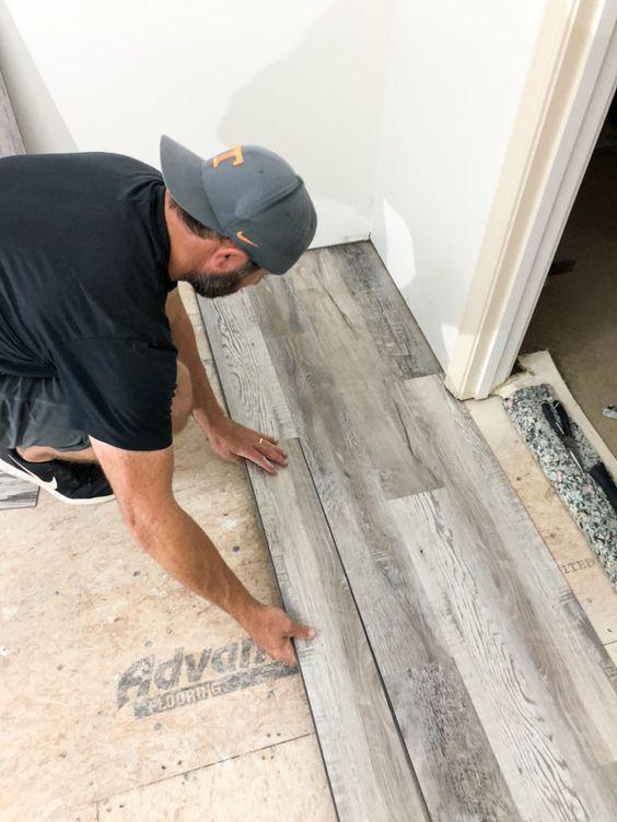 How To Install Luxury Vinyl Plank Flooring | Luxury vinyl ...