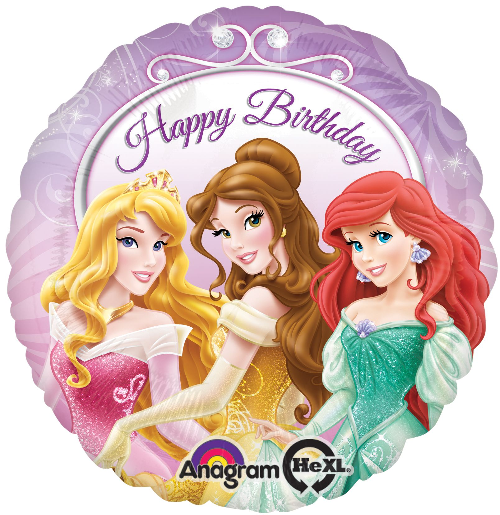 Pleasing Birthday Party Same Day Shipping Disney Princesses Cake Foil Birthday Cards Printable Nowaargucafe Filternl