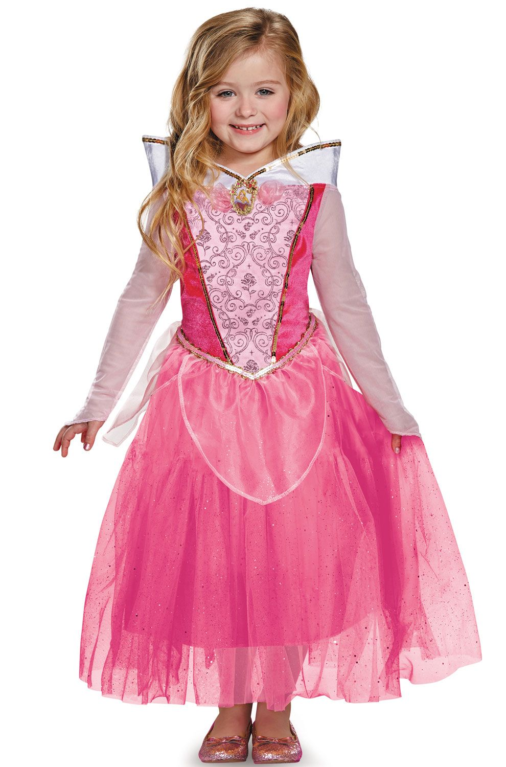 58a377789 Aurora Deluxe Child Costume   Perfect Princess Parties   Princess ...