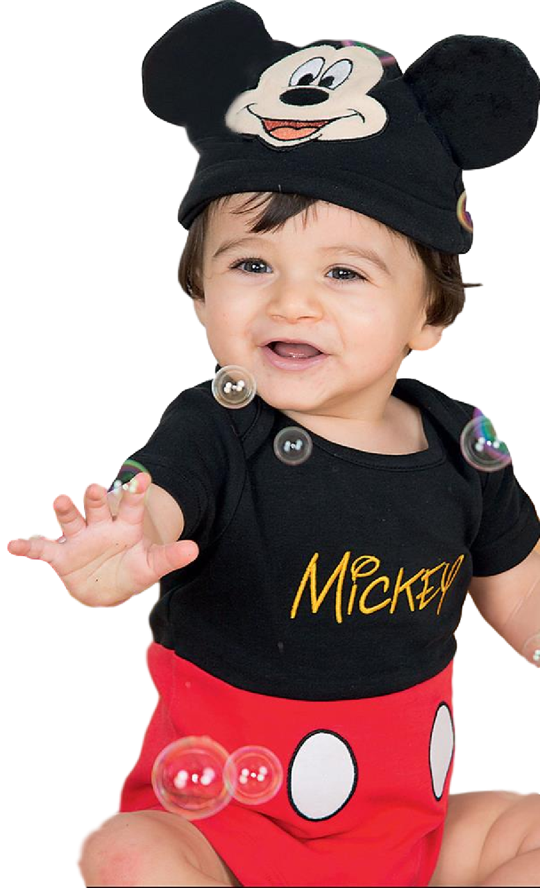 8e5201e65 Baby Boys Official Mickey Mouse Fancy Dress Costume. Perfect outfit for  your little girl or boy this Halloween, carnival, book day or birthday.