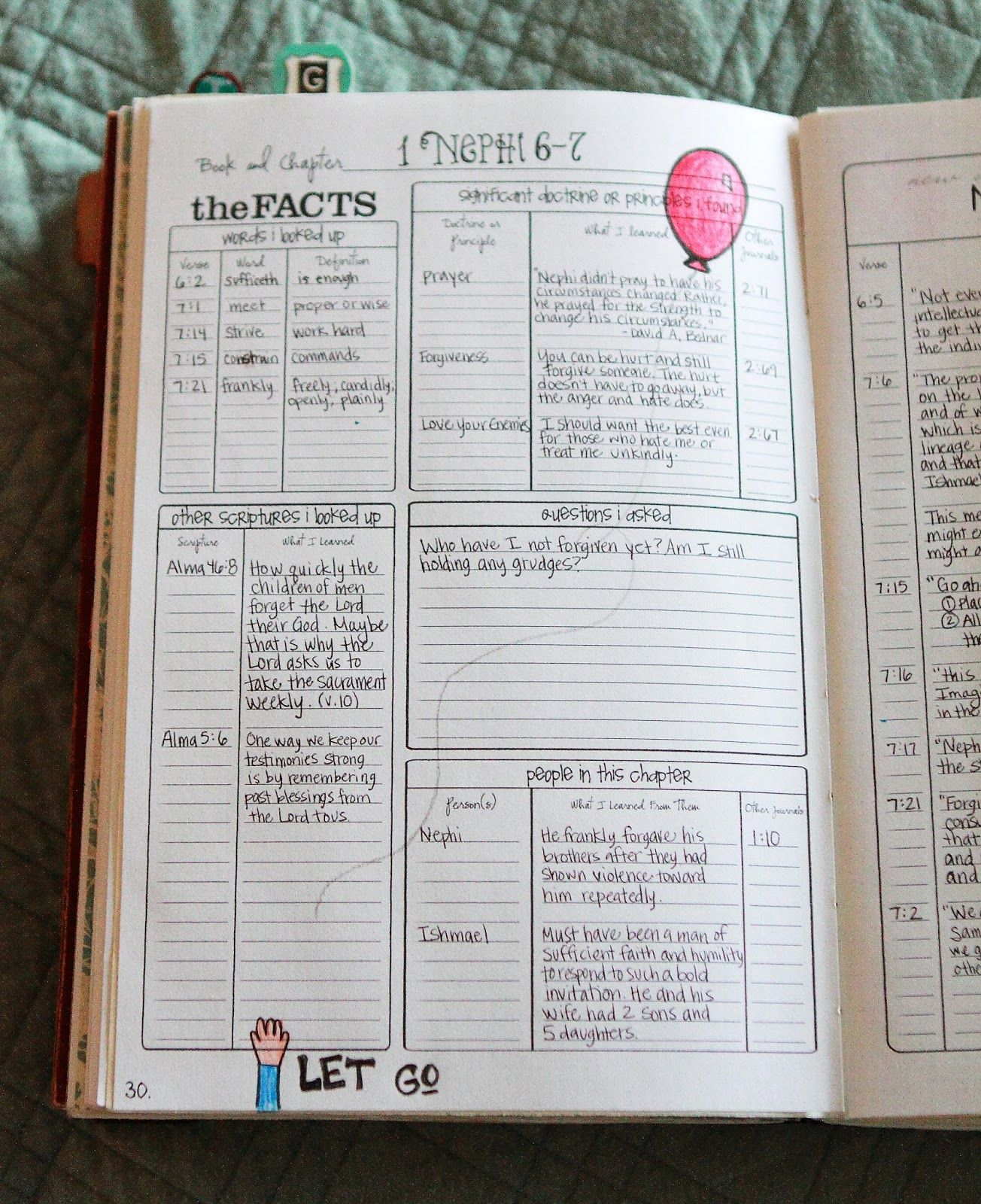 One of a Kind: FREEBIE: Scripture Chapters Journaling Template ...