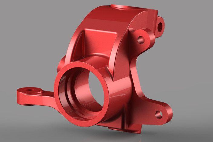 Ford Sierra upright - STEP / IGES - 3D CAD model - GrabCAD