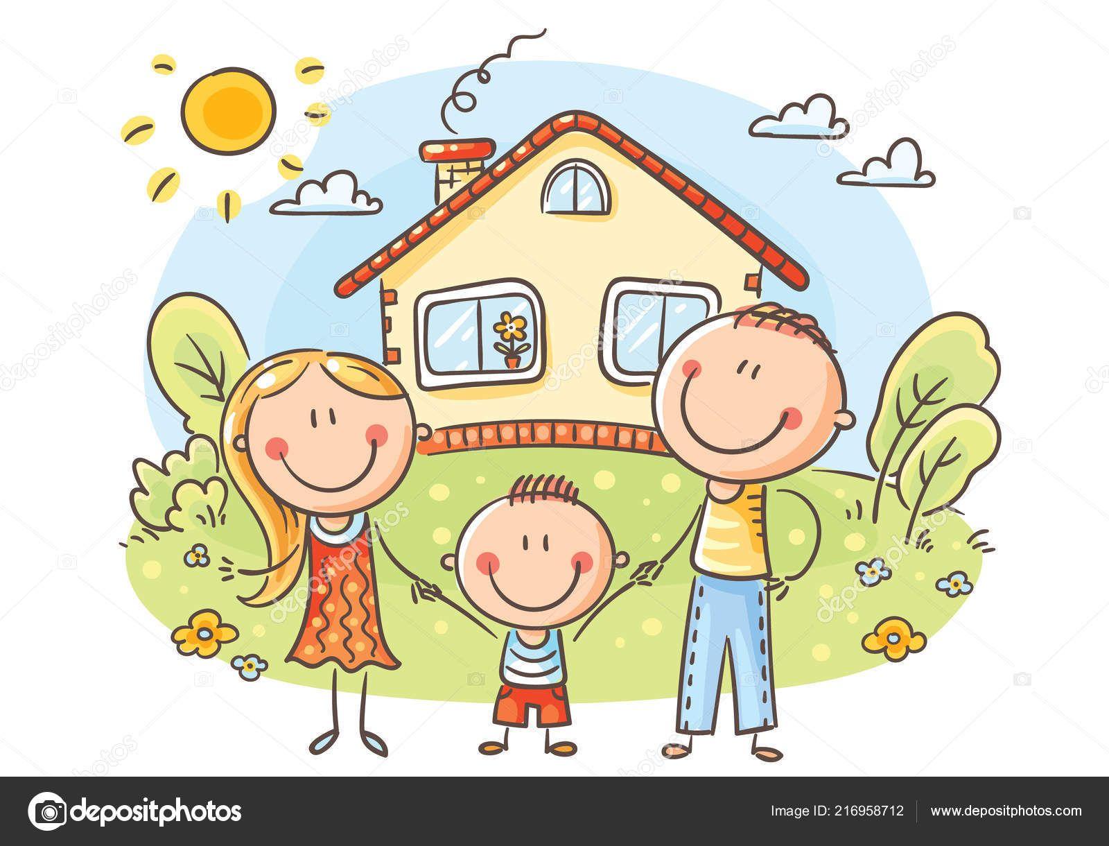 Familia Hogar Animados Buscar Con Google Familia Dibujos