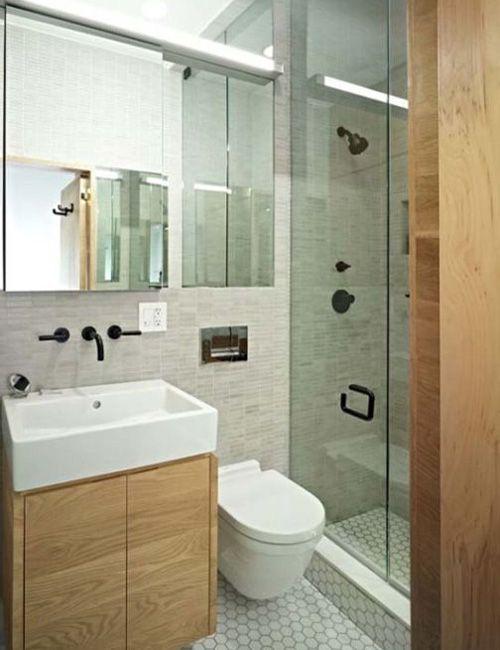 BAÑO, POCO ESPACIO My New Lake House Pinterest Washroom, House