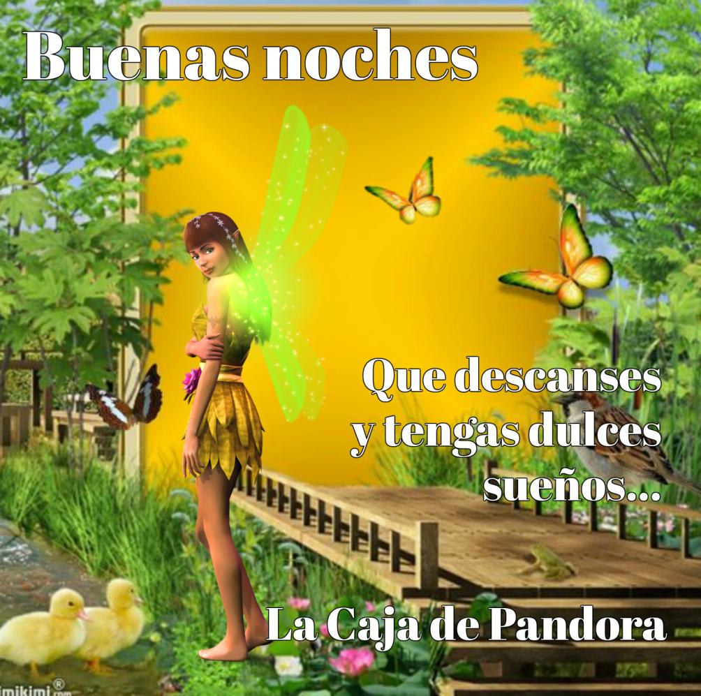 Pin La Caja De Pandora Frases Buenas Noches Imgurl