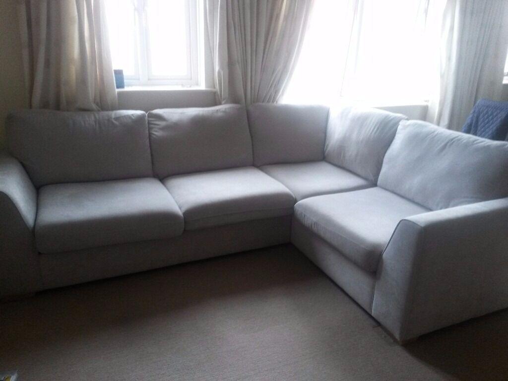 Grey Fabric Sofa Gumtree In 2020 Corner Sofa Design Home Decor Styles Sofa Design