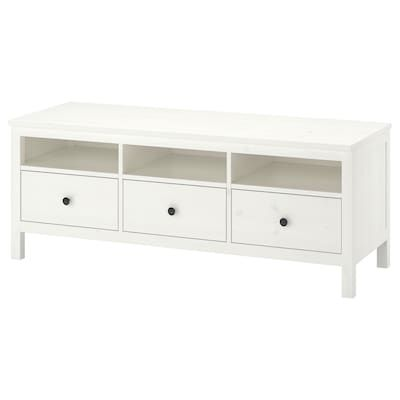 Hemnes Console Table White Stain 61 3 4x15 3 4 Tv Bench