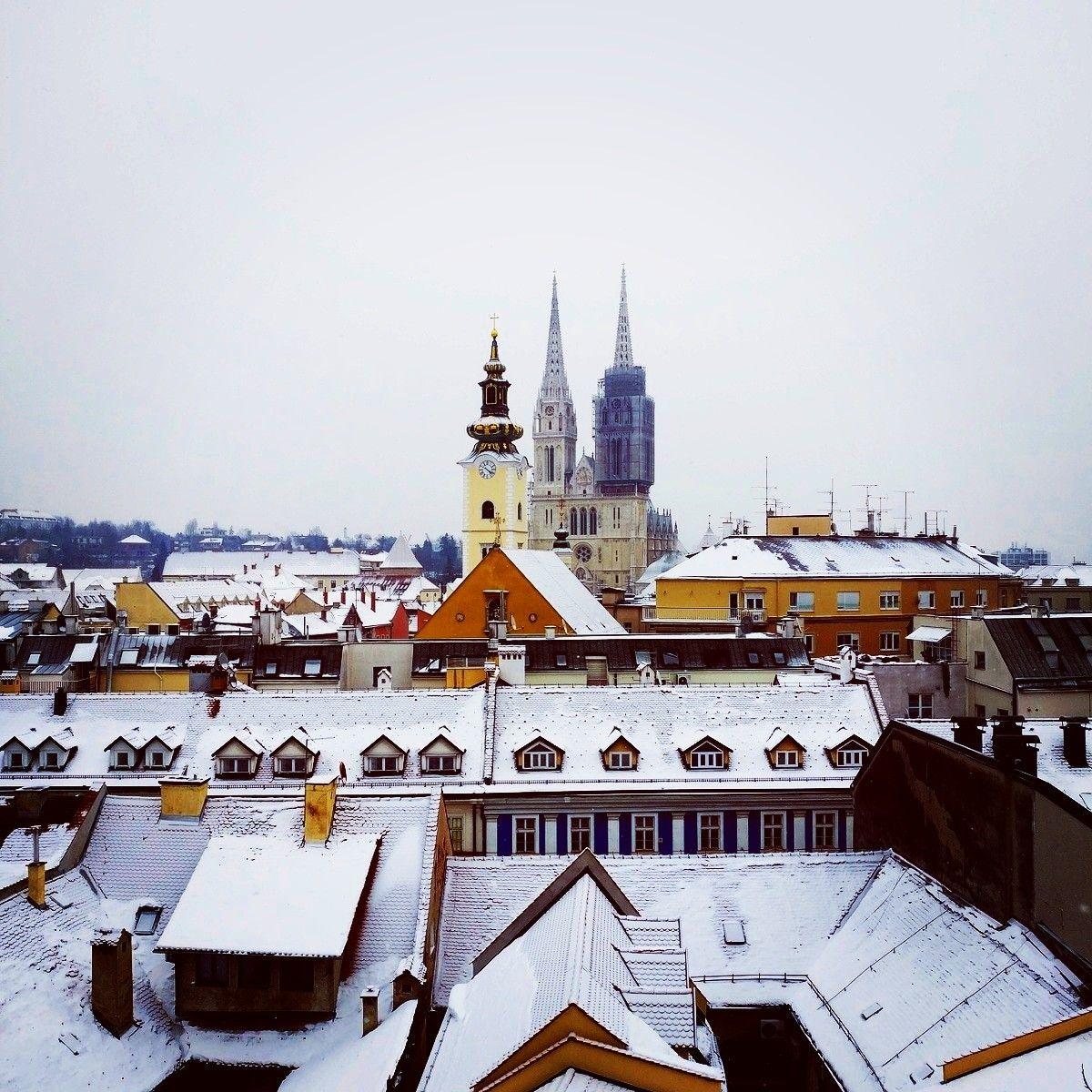 Zagreb Zagreb Paris Skyline City House Styles