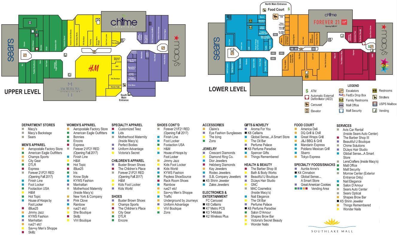 Southlake Mall shopping plan How to plan, Start up