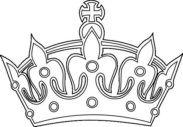 Keep Calm Crown Vector Crown Clip Art Clip Art Clipart Black And White