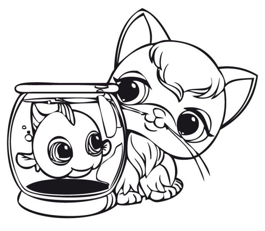 Littlest Pet Shop printable coloring pages   Zenias Colouring Fun ...