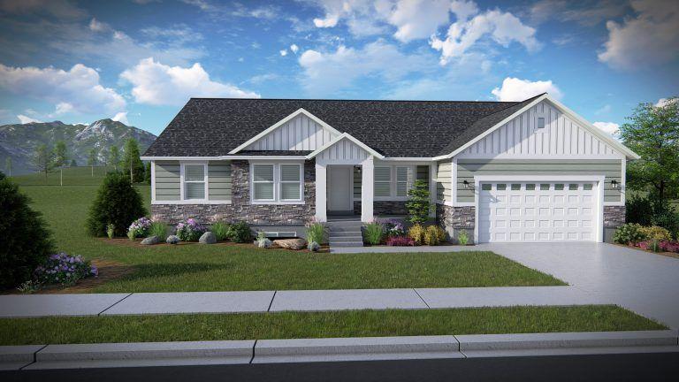 Hailey Rambler Floor Plan Utah Edge Homes Rambler House Plans Basement House Plans House Floor Plans