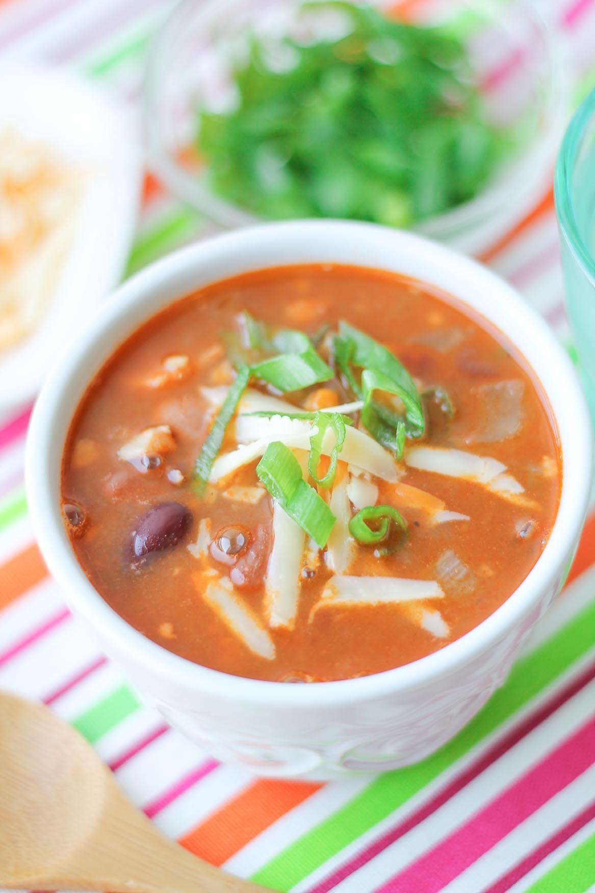 Smoky Chicken & Bean Soup