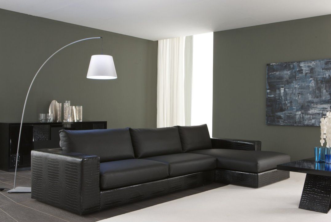 Rossetto Furniture   Nightfly Small Sofa With Left Chaise Lounge