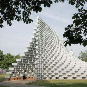 BIG and Fiberline reveal manufacturing process behind Serpentine Gallery…