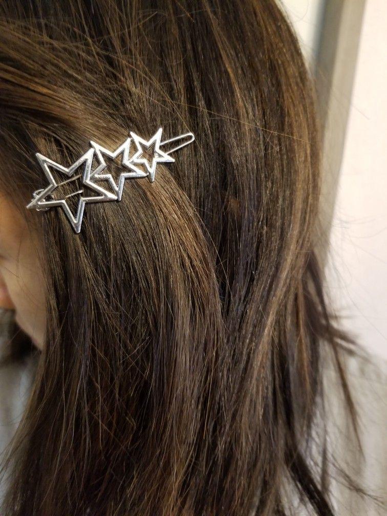Hair Clips Star Hair Accessories Star Hairpin Hair Headwear Star Hair Clips JH
