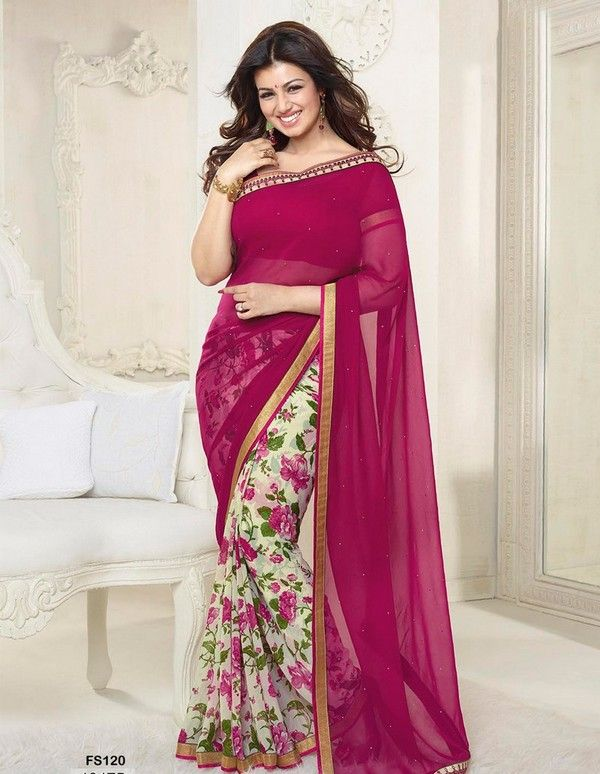 86daf64448 Latest Sarees Styles For Beautiful Girls | Things to Wear(Sarees ...