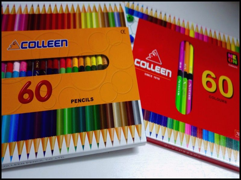 Beautiful Colleen Colored Pencils 72