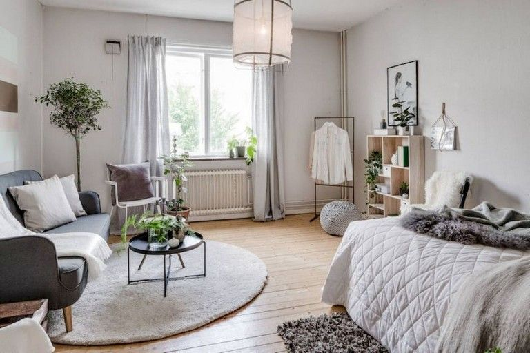 63 Intelgent Studio Apartment Decorating Ideas Apartment Bedroom Decor Small Apartment Bedrooms Small Apartment Decorating #studio #apartment #living #room #ideas