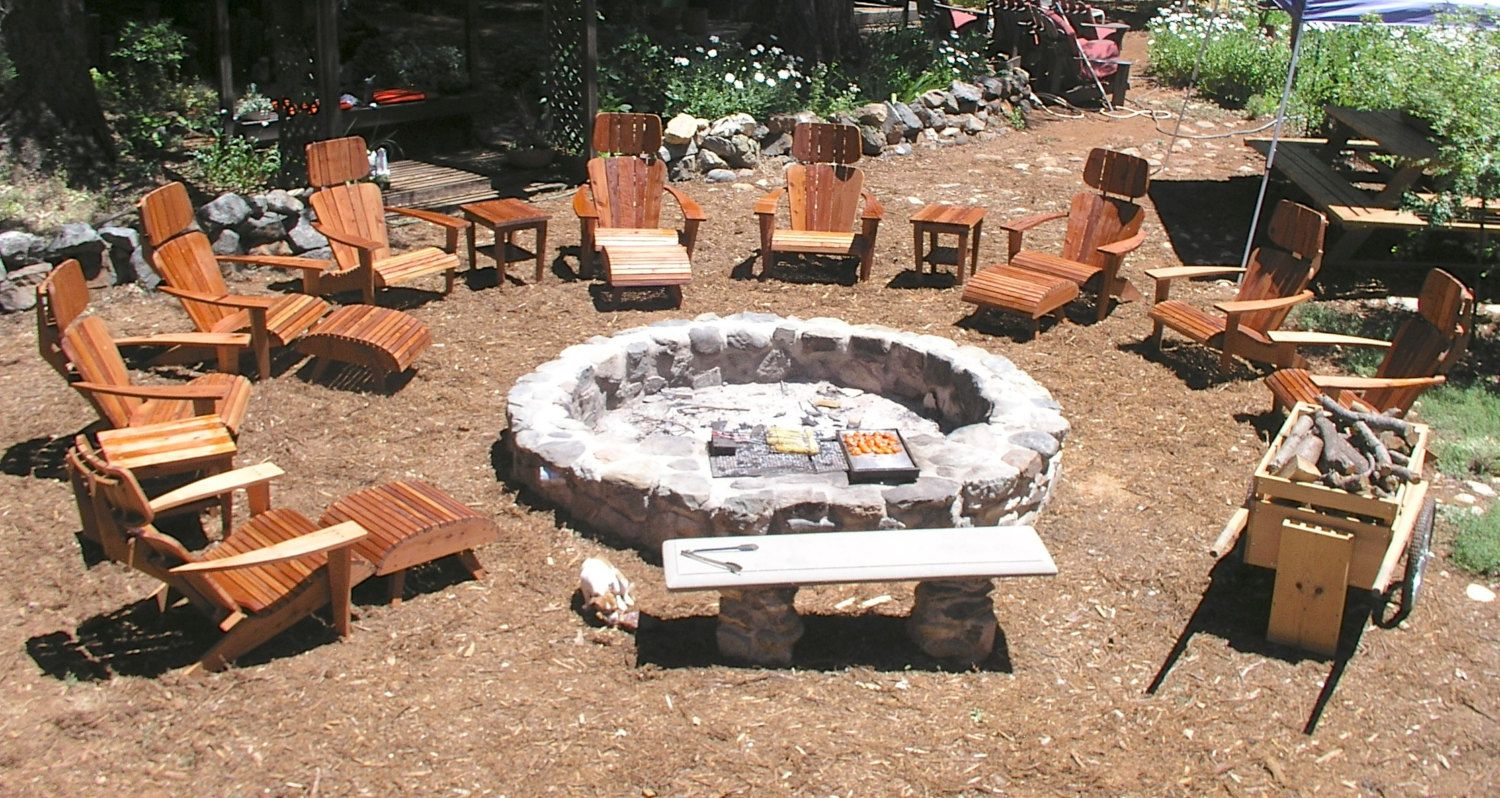 Custom fire pits designed to cook on open by midcenturywoodshop