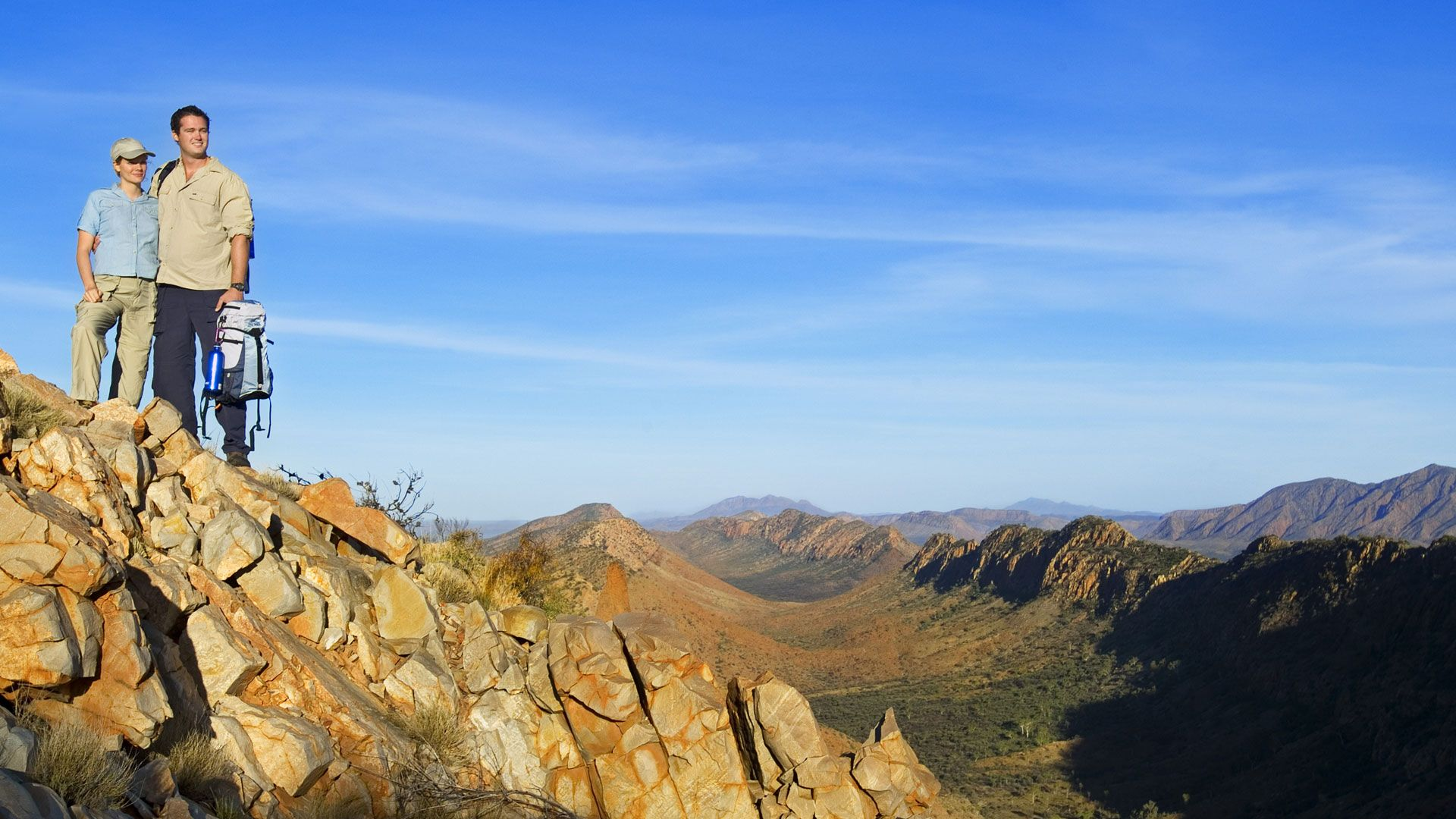 Counts Point, Section 8 Larapinta Trail, Central Australia ...