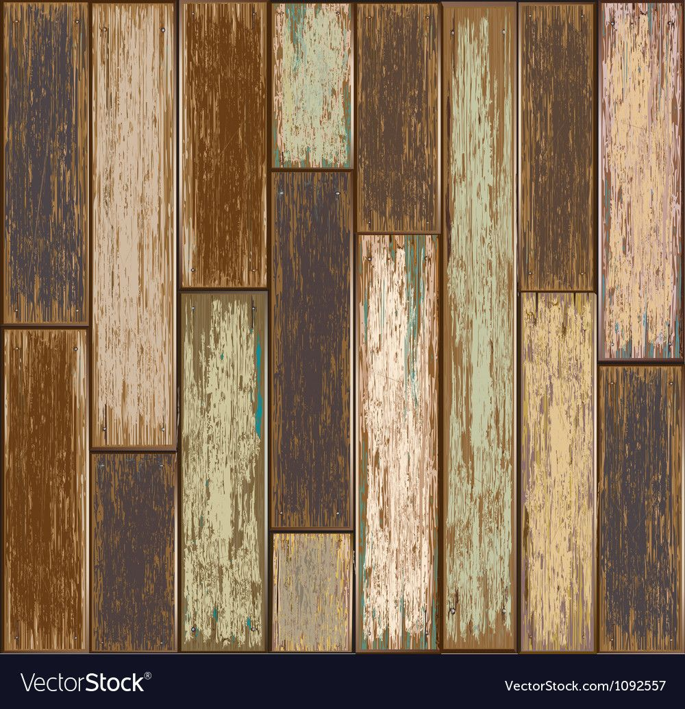 Old Paint Wood Texture Seamless Background Vector Image On Vectorstock Painted Wood Texture Wood Texture Seamless Textured Background