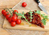 Tarte tatin aux tomates cerise