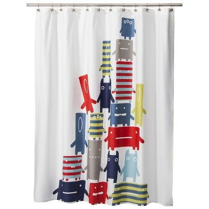 Why Tempt Me With What I Can Not Order Target Room 365TM Kids Monster Shower Curtain