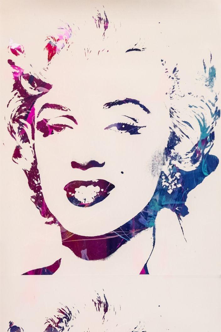 Marilyn Monoprint