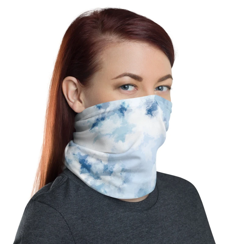Unisex Bandana Head Face Mask Neck Snood Headwear Tube Scarf Galaxy UK