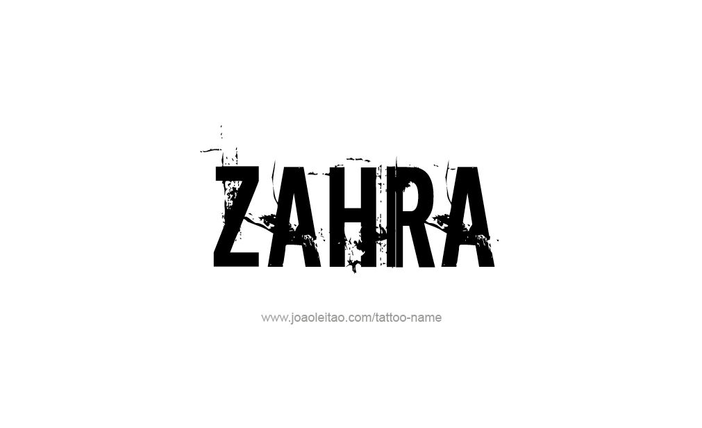 what does the name zahra mean
