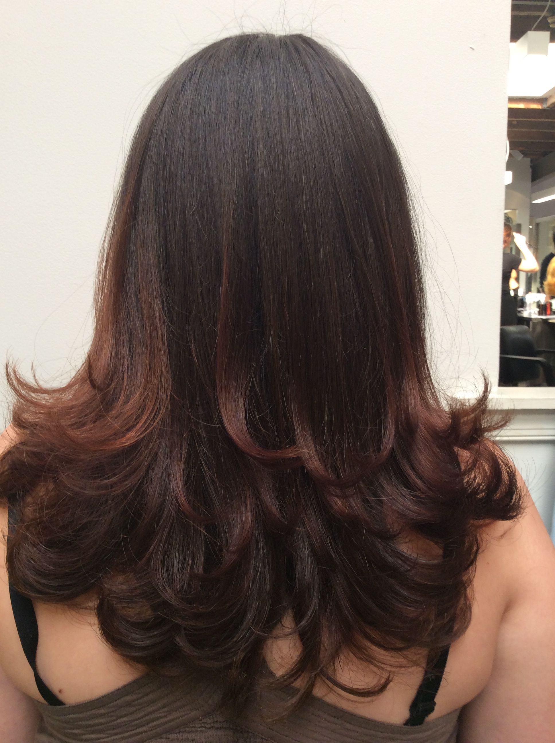 pictures How to Blow Dry Layered Hair