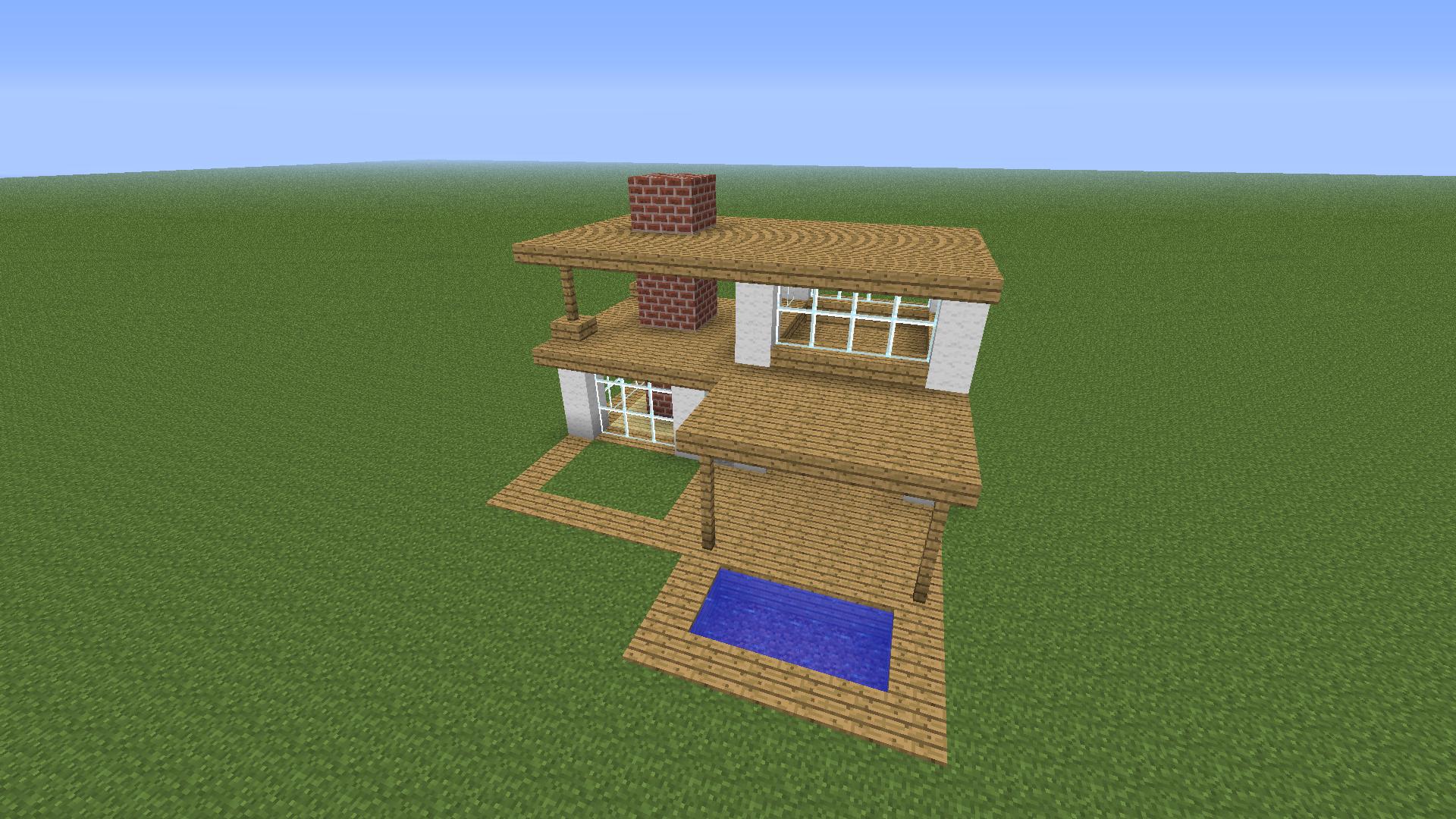 minecraft house tutorial - HD1899×1068