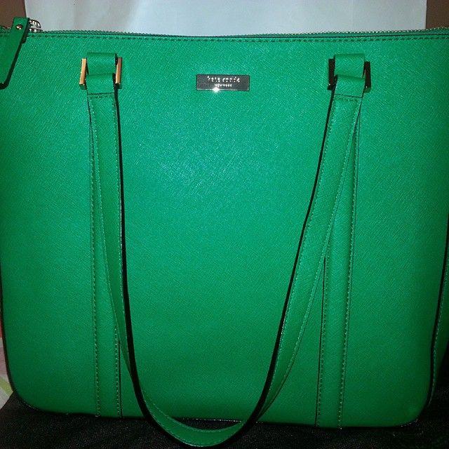 28f050c59843 Kate Spade Green Purse