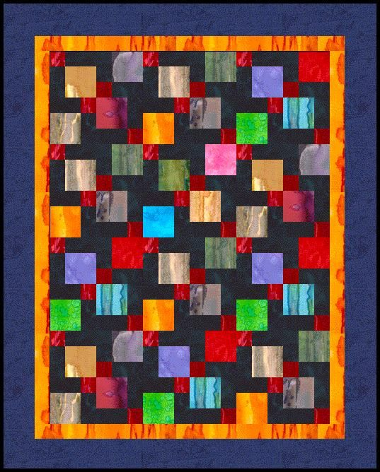 magic-twist-and-stitch-9-Patch Quilt, Disappearing 9 Patch ... : 9 quilt block patterns - Adamdwight.com