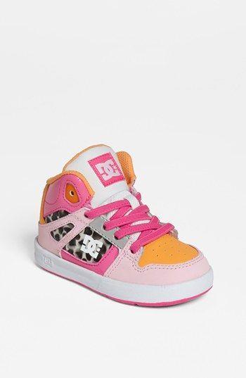 Dc Shoes Rebound Sneaker Walker Toddler Nordstrom Little Girl Shoes Dc Shoes Kid Shoes