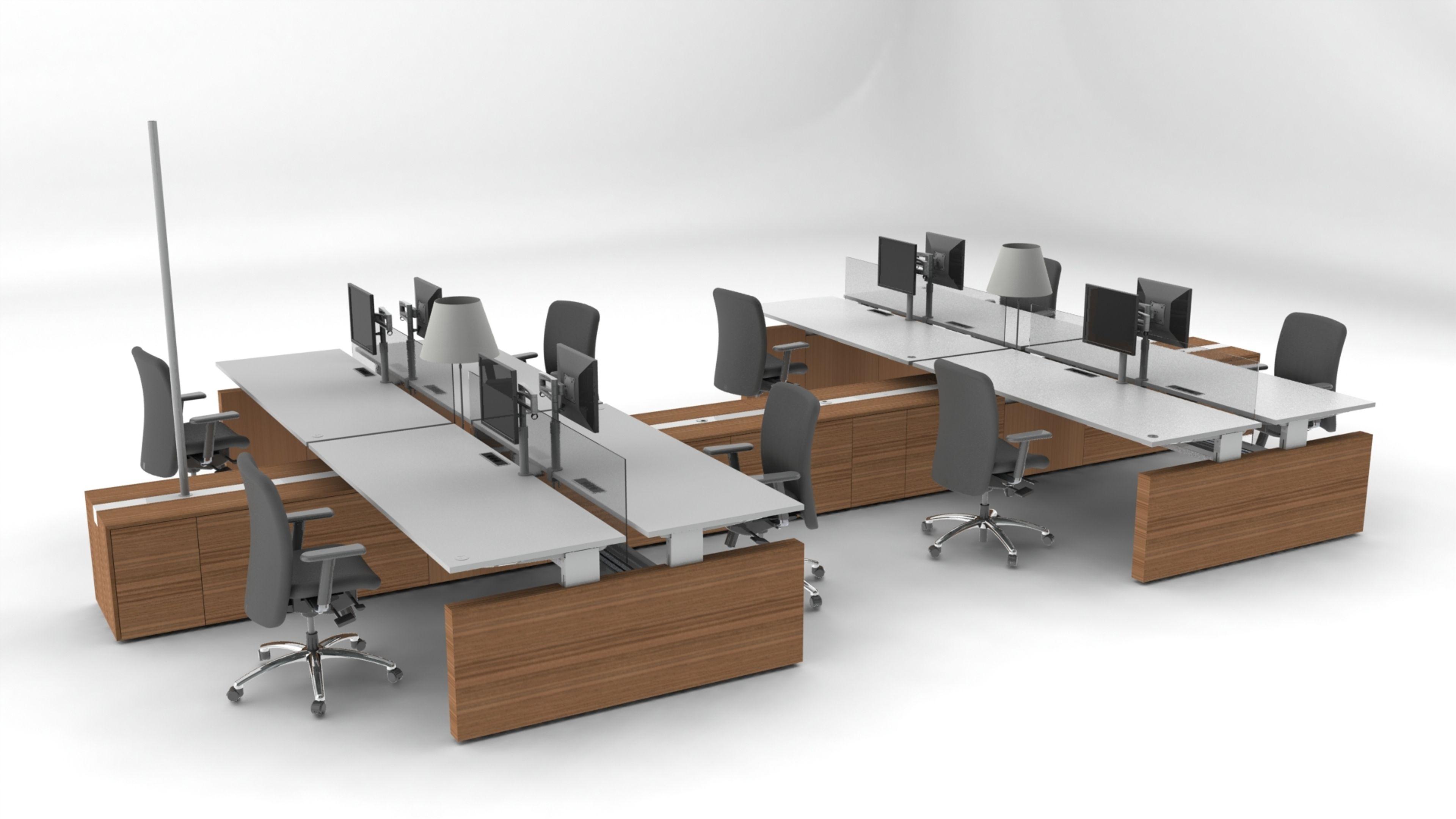 pcok desk office t co wall desks