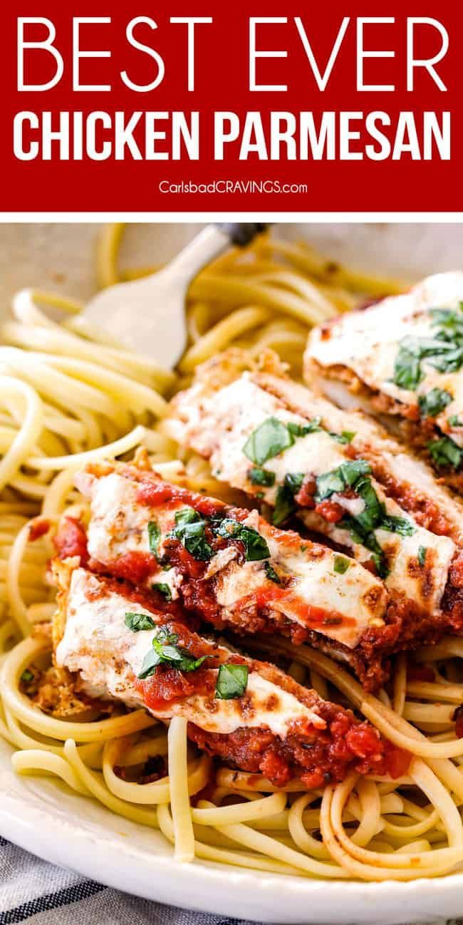 Chicken Parmesan with 5 Minute Marinara