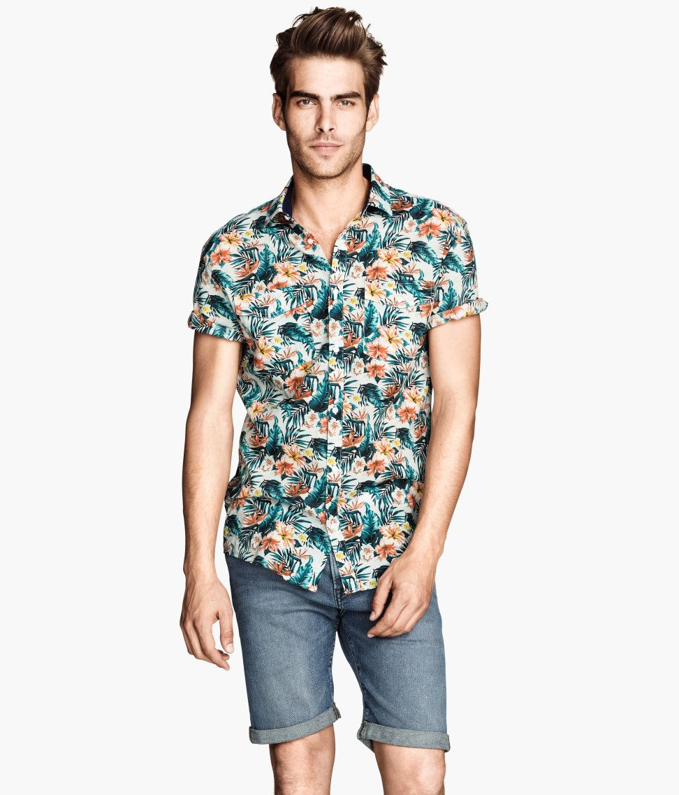 8369f7e0430ea tendencias-camisa-hombre-verano-2014-camisa-floreada-h m