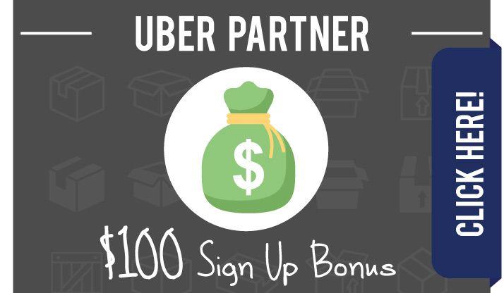 Uber Partner Promo Code: Get $100 BONUS cash with this