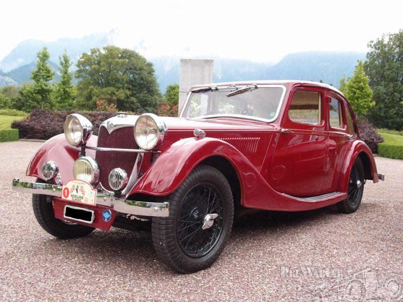 Riley 15/6 Kestrel Six light 1936 for sale 3 | Rocking Chair Motors ...