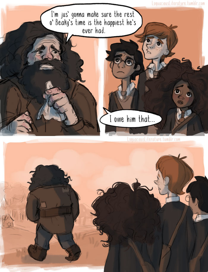 7 Powerful Harry Potter Scenes That Did Not Make It To The Movies Finally Come To Life Thanks To This Illustrator Harry Potter Scene Harry Potter Comics Harry Potter Memes