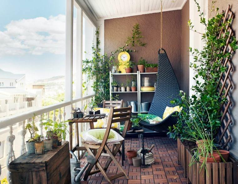 d co balcon et terrasse d 39 appartement en ville une bouffee de chlorophylle en ville. Black Bedroom Furniture Sets. Home Design Ideas