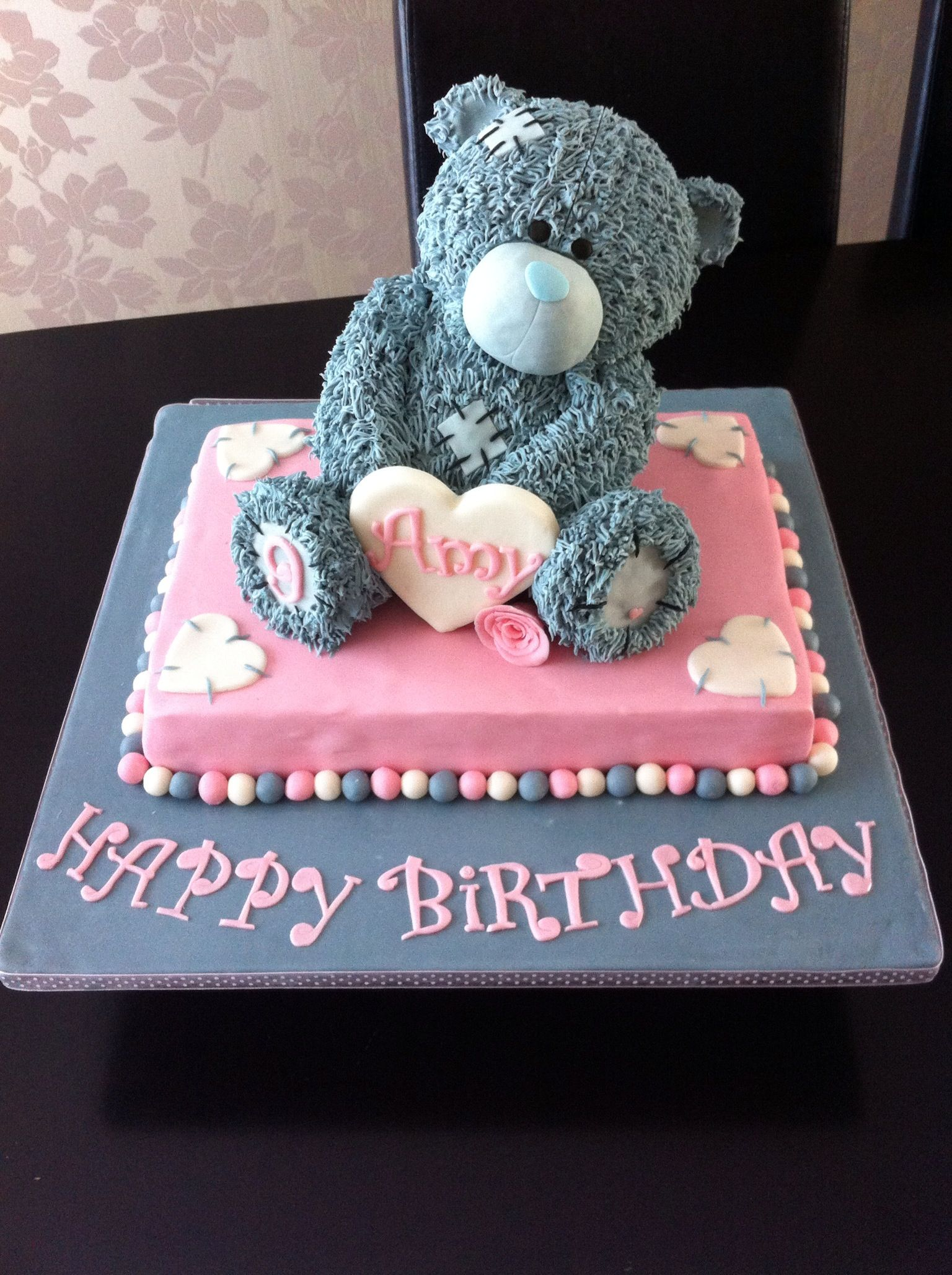 Tatty Teddy Birthday Cake With Images Teddy Cakes Cake