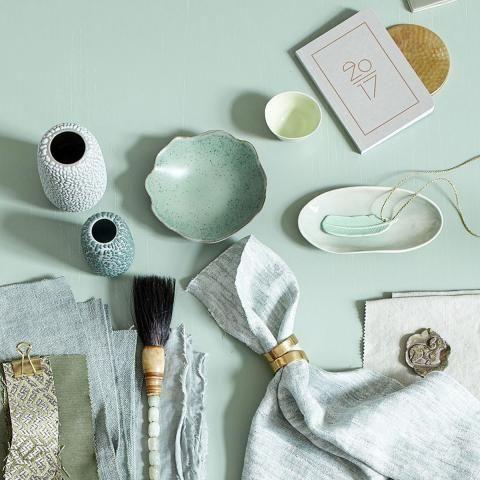 Trendfarbe Grün   Wandfarben, Wohnideen Und Dekoideen   [LIVING AT HOME]