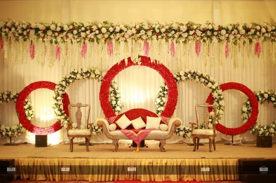 Simple Stage Decoration With Balloons For Engagement Valoblogi Com