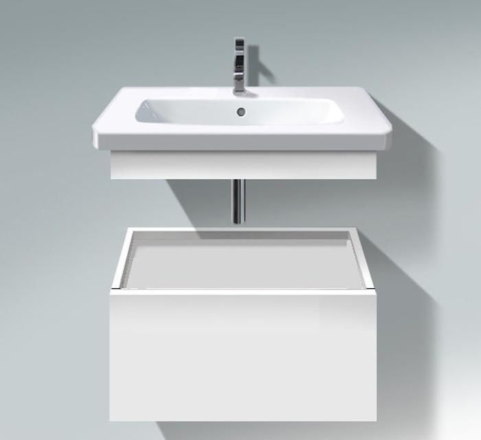 "D Code Furniture Washbasin 25 5 8"" with Overflow and Faucet Deck"