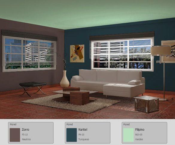 Para un ambiente minimalista colores frescos y muebles for Interiores minimalistas